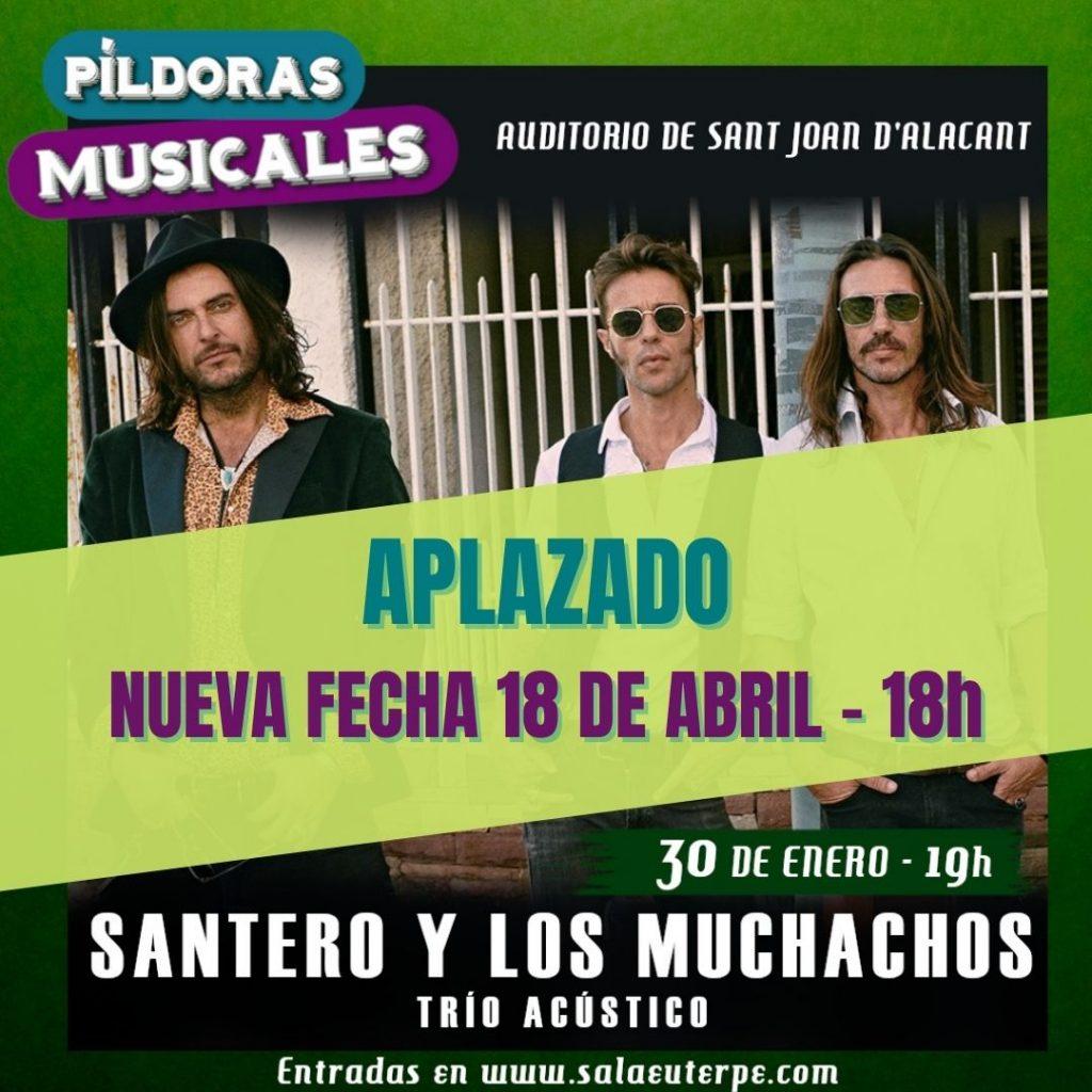 Aplazados los dos primeros conciertos de 'Píldoras Musicales' a causa de las nuevas restricciones sanitarias en MÚSICA
