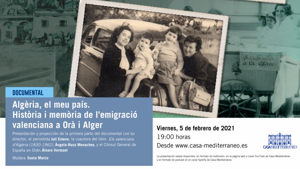 Casa Mediterráneo recibe a Najat El Hachmi, Premio Nadal 2021, en su programación de febrero en CONFERENCIAS