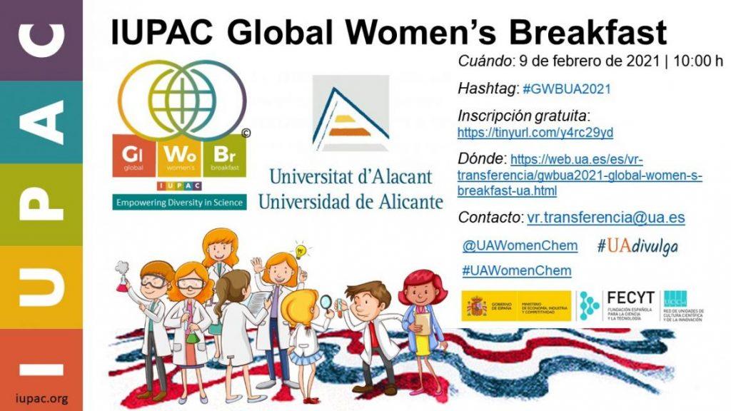La UA celebra el Día Internacional de la Mujer y la Niña en la Ciencia con un amplio programa de actividades virtuales en CONFERENCIAS