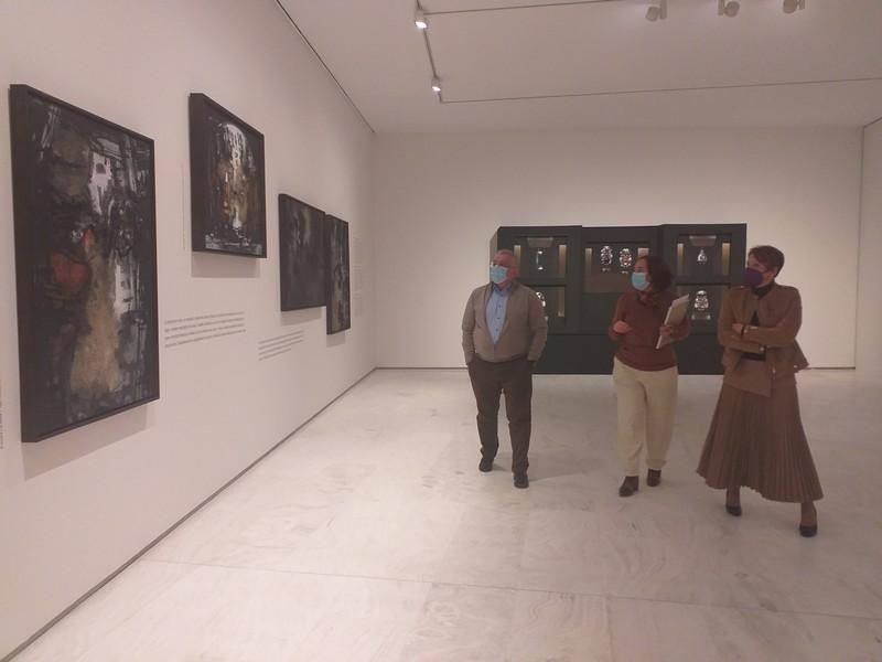 La obra de Juana Francés vuelve a ser protagonista en una exposición en el MACA en PINTURA