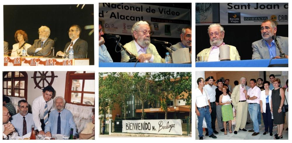 El cartel del Festival de Cine de Sant Joan d'Alacant rinde homenaje a Luis García Berlanga en CINE