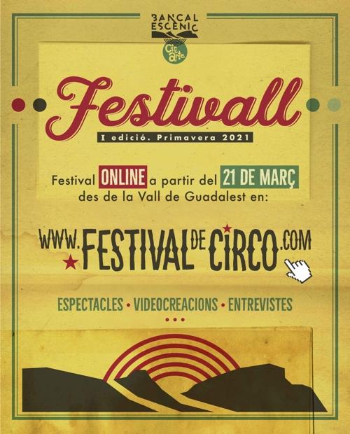 Nace 'Festivall', el primer festival online de circo contemporáneo y rural en ESCENA