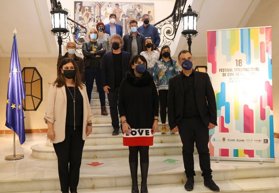 Pilar Pérez Solano presidirá el jurado oficial del 18º Festival de Cine de Alicante en CINE