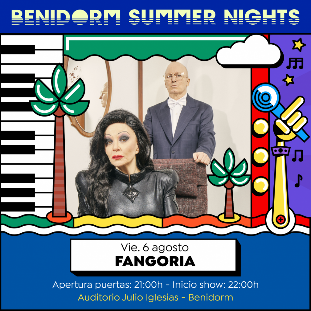 Antonio Orozco, Fangoria y Miguel Poveda, primeras confirmaciones de Benidorm Summer Nights 2021 en MÚSICA