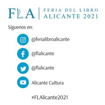 La Feria del Libro de Alicante vuelve en formato presencial del 21 al 30 de mayo a la Plaza de Séneca en LETRAS