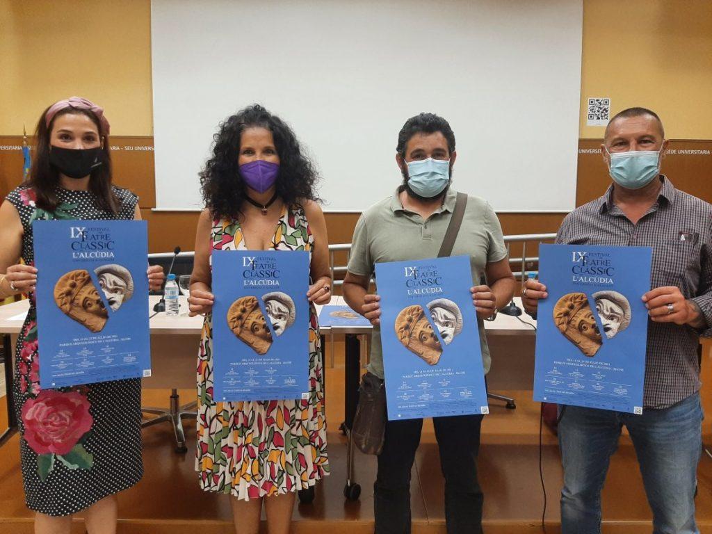 El Festival de Teatro Clásico de L'Alcúdia-UA retoma la presencialidad en ESCENA