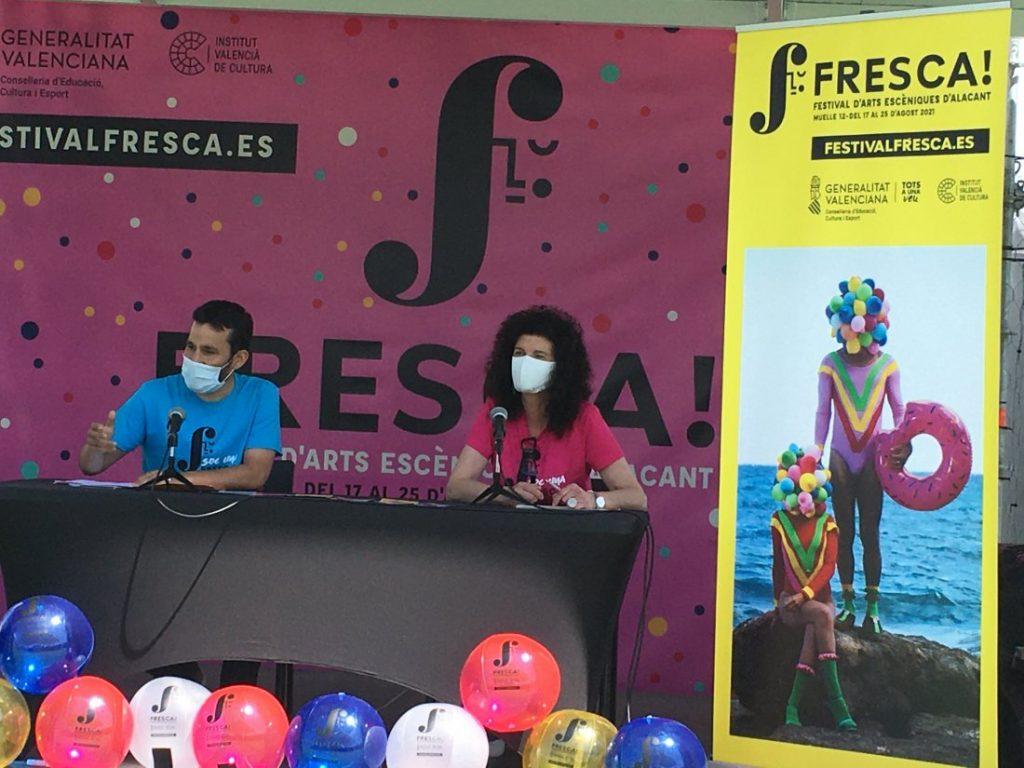 FRESCA!, nueva propuesta de artes escénicas de la Generalitat para este verano en Alicante en ESCENA