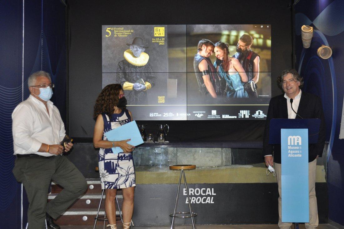 El 5º Festival Internacional de Teatro Clásico de Alicante se celebrará en diversos emplazamientos de la ciudad del 15 al 19 de septiembre en ESCENA