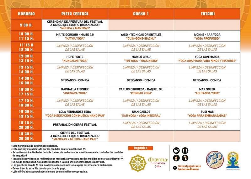 Alicante celebra el VIII Festival de Yoga en DEPORTE