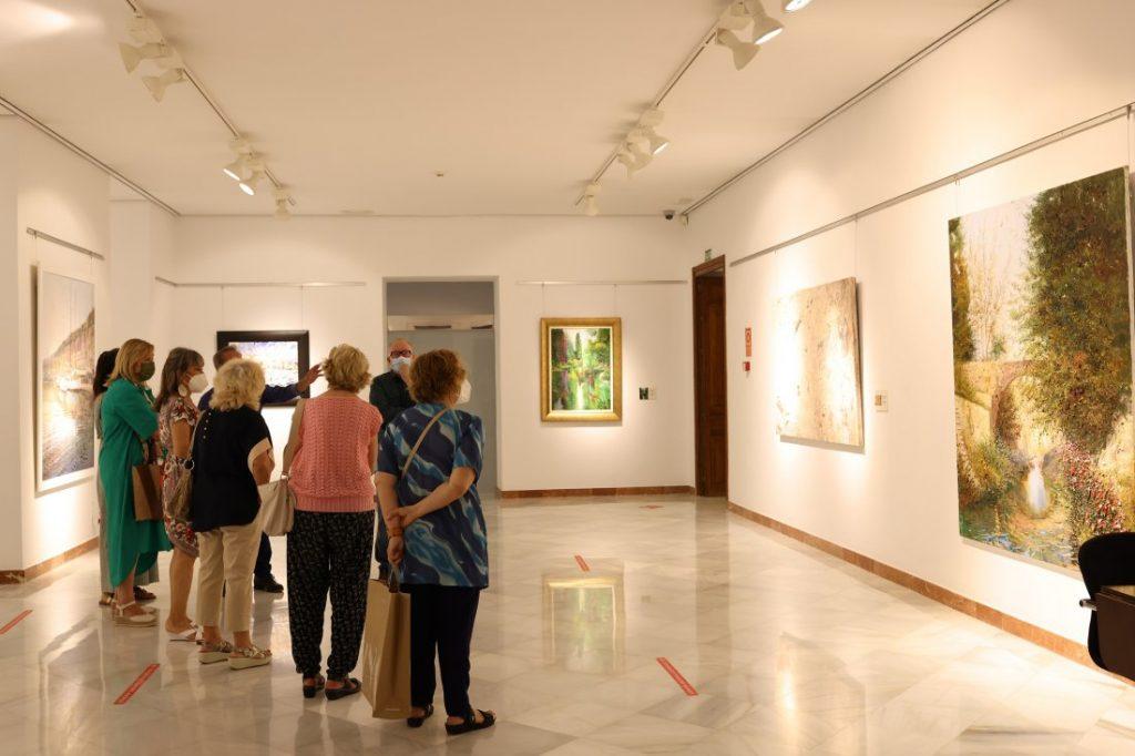 La Diputación de Alicante acoge una exposición con los últimos trabajos del pintor Evaristo Alguacil en DESTACADOS