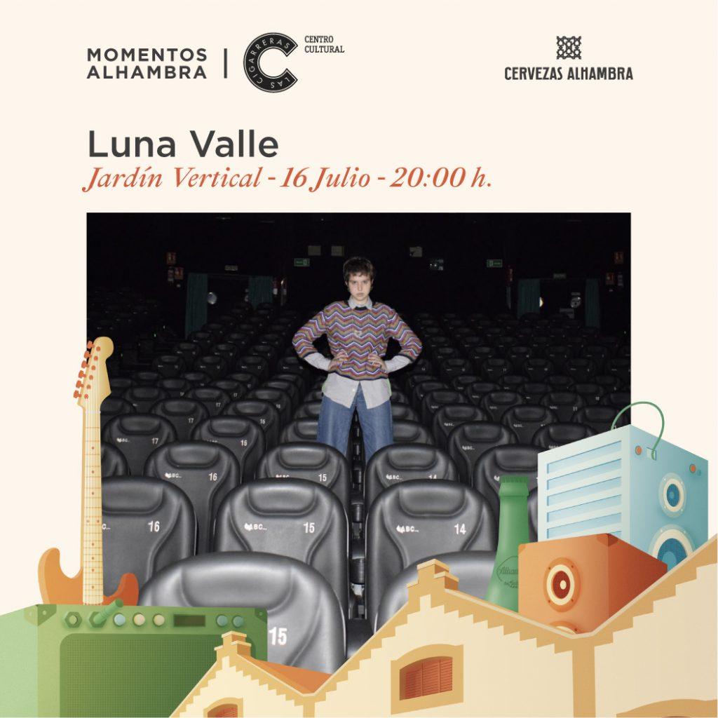 El pop melódico de Luna Valle llega a'Momentos Alhambra Las Cigarreras' en MÚSICA