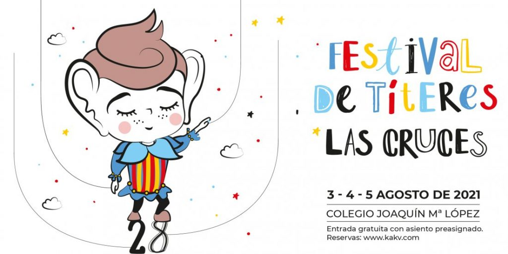 El festival de títeres 'Las Cruces' de Villena ofrece seis espectáculos del 3 al 5 de agosto en DESTACADOS ESCENA