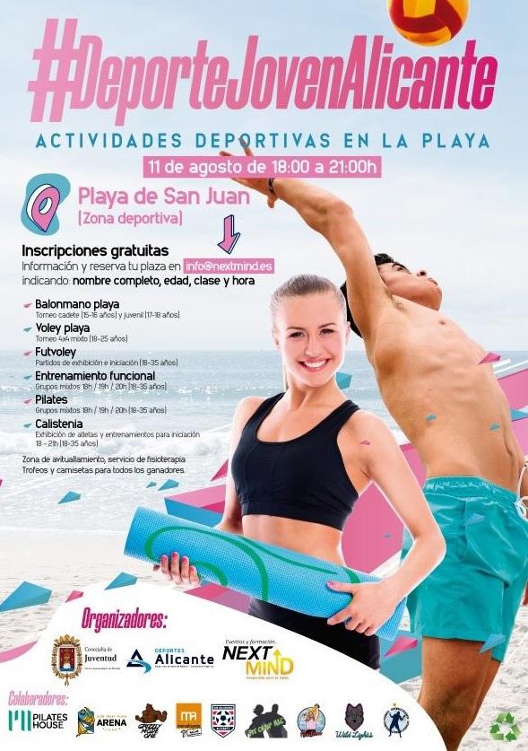 Alicante celebra el 'Día Internacional de la Juventud' con un amplio programa de actividades deportivas y culturales en DEPORTE