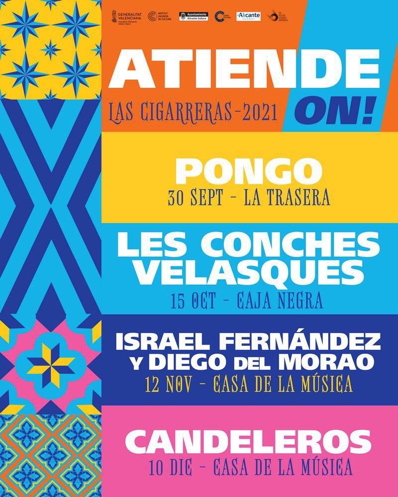 Atiende Alicante! regresa con sus conciertos singulares de artistas de los cinco continentes en DESTACADOS MÚSICA