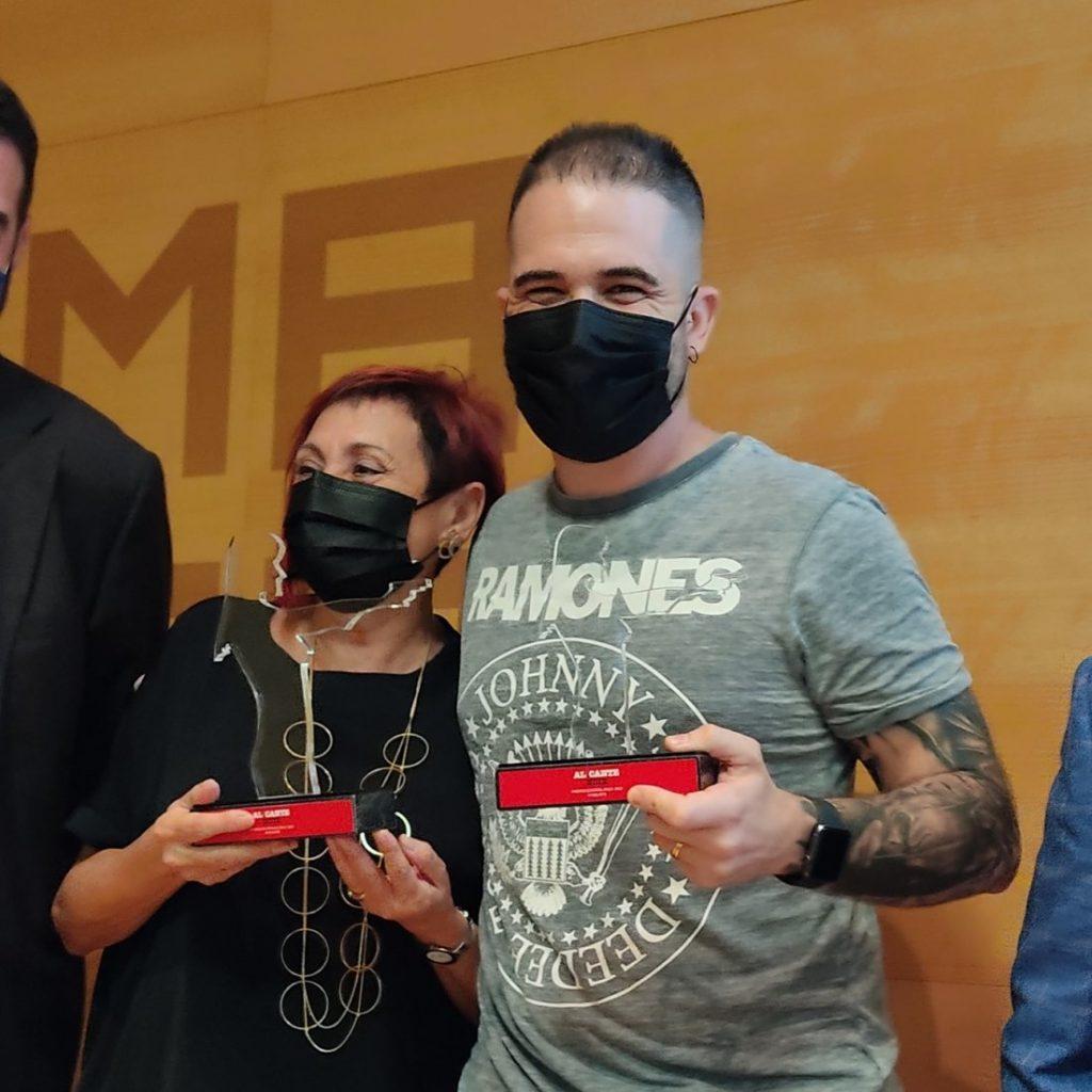 Elia Barceló,ganadora del Premio Costa Blanca 2021 de Alicante Noir, por 'La noche de plata' en DESTACADOS LETRAS