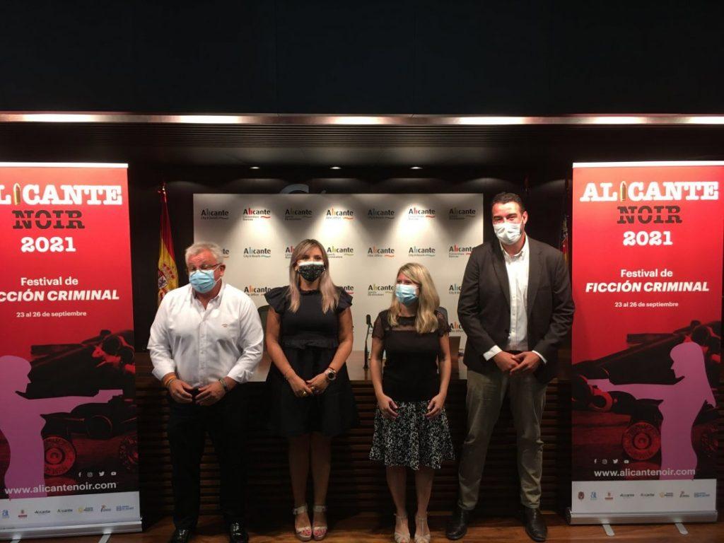 Alicante se tiñe de negro con su primer Festival de Ficción Criminal, del 23 al 26 de septiembre en DESTACADOS LETRAS