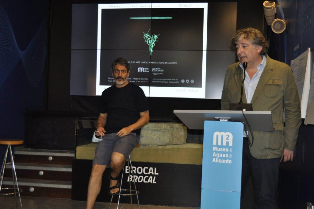 Aurelio Ayela expone 'Hipogea. El hueco interior', una obra cargada de simbolismo, en los Pozos Garrigós en ARTE DESTACADOS