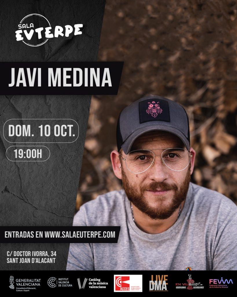 Los temas frescos de Dani Flaco y el flamenco fusión de Javi Medina, este fin de semana en Sala Euterpe en MÚSICA