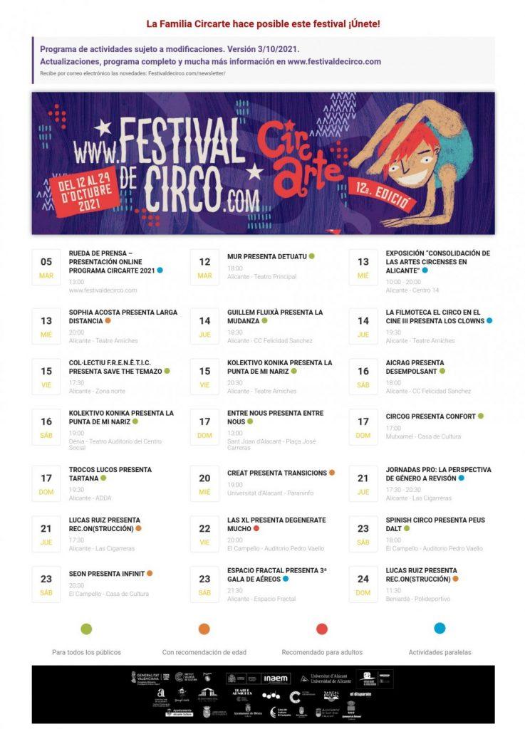Circartetrae la magia del circo del 12 al 24 de octubre adiversas localidades de la provincia en DESTACADOS ESCENA