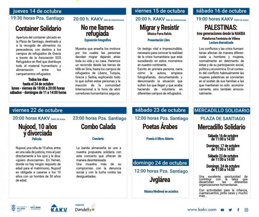 'Última parada: Libertad', elciclo Miradas de Realidad afronta en Villena la problemática de los refugiados en CONFERENCIAS DESTACADOS
